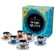 Kit Marc Quinn (6 cesti cappuccino+6 farfurii)