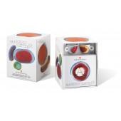 Kit Francesco Clemente (2 cesti espresso + 2 farfurii + cutie cafea 250 gr.)