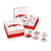 Kit Watermill Center (set 6 cesti cappuccino + 6 farfurii)