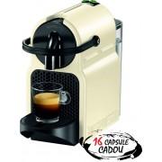 Espressor Nespresso Inissia Vanilla De'Longhi + 16 capsule