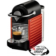 Espressor Nespresso Pixie Electric Red Krups + 16 capsule