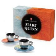 Kit Marc Quinn (2 cesti espresso+2 farfurii)