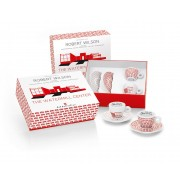 Kit Watermill Center (set 2 cesti cappuccino + 2 farfurii)