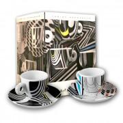 Kit Rehberger (set 2 cesti espresso + cutie cafea 250gr.)